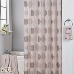 Other Brands - Carnation Home Fashions Park Avenue Beige Circle Fabric Shower Curtain Multicolo - Shop for Shower Curtains from Hayneedle.com! Contemporary and sophisticated the Carnation Home Fashions Park Avenue Beige Circle Fabric Shower Curtain is a smart blend of style and neutral color. A perfect match to any bath this shower curtain has a circle pattern in shades of brown. It's made of machine-washable polyester fabric to last.About Carnation Home FashionsYour home your style Carnation Home Fashions believes in this motto. That s why this home fashions company offers a wide range of on-trend and classic products designed for style and convenience. Perfect for matching today s busy lifestyles their bath products meet your needs in style. Carnation Home Fashions is based in Newburgh New York.
