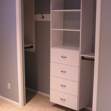 Traditional Closet by Tailored Living