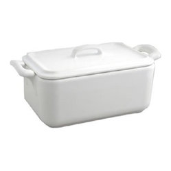 Revol Porcelain Belle Cuisine Rectangle Terrine with Lid