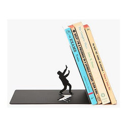 The End Bookend - Why not inject a little quiet humor into your gift-giving? This bookend will raise a smile if your friend is an avid reader.