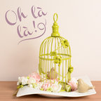 Oh La La French Lettering Stencil - Add a special touch of French essence to your diy craft with our Oh La La Typography Stencil from Royal Design Studio.