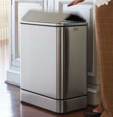 contemporary kitchen trash cans by FRONTGATE