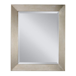"Murray Feiss - Murray Feiss MR1115SL Silver Leaf Galaxy Galaxy 33.75"" Height x 28"" - Murray Feiss MR1115 Galaxy 33.75"" Height x 28"" Width Clear Retangular MirrorThirty four inches in height, this clear glass retangular wall mirror adds luxury to any room. With its traditional décor, this retangular shaped mirror from the Galaxy Collection is distinct and eye-catching. Hanging hardware included and affixed to the frame enabling mirror to be hung horizontally or vertically.Murray Feiss MR1115 Features:Clear GlassRectangular ShapePortrait OrientationHanging Hardware IncludedMurray Feiss MR1115 Specifications:Height: 33.75""Width: 28"""