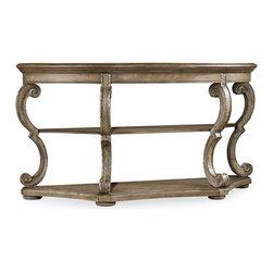 Hooker Furniture - Hooker Furniture Sofa Table, Solid Oak - Product Details