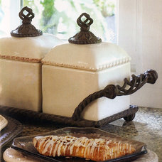Traditional Food Containers And Storage by Iron Accents