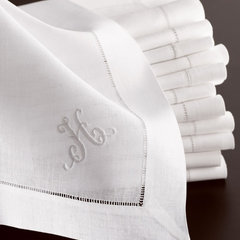 traditional table linens by Neiman Marcus