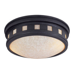 Designers Fountain - Designers Fountain Sedona Outdoor Lighting Fixture - Shown in picture: Sedona Ceiling Mount in Oil Rubbed Bronze finish