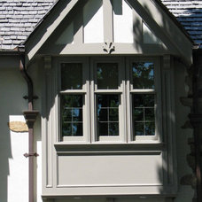 Traditional Exterior by Ph.D. Design Inc.