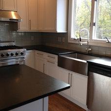 Contemporary Kitchen Countertops by Granite Center