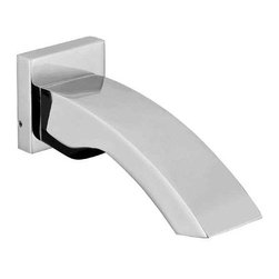ALFI brand - ALFI brand AB3301 Curved Tub Filler Bathroom Spout, Polished Chrome - This elegant modern tub spout is just what you need to fill up your tub with water and let yourself indulge in a relaxing  and rejuvenating soak. Alfi brand's simple design makes this tub filler a perfect match to any bathroom decor.