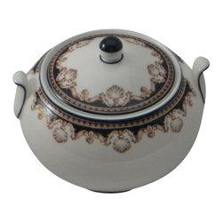 Wedgwood - Wedgwood Medici 146 Shape Sugar Bowl & Lid - Wedgwood Medici 146 Shape Sugar Bowl & Lid