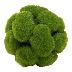 Cyan Design - Moss Sphere - Small - Small moss sphere - moss green