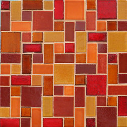Savvy Squares - Savvy Squares - 1047 Roasted Pepper, 614 Matador Red, 1003 Sun Yellow, 1023 Butter Toffee, 65W Amber