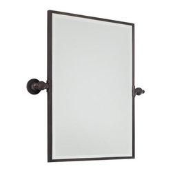 "Minka Lavery - Minka Lavery 1440-267 Dark Brushed Bronze Pivoting Bathroom Mirror - Minka Lavery 1440 Traditional / Classic Rectangle Mirror  Rectangle Mirror Dimensions: 18""W x 24""H x 3 1/4"" Extension"