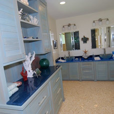 Beach Style  by ECCO Woodcrafts & Cabinetry, LLC