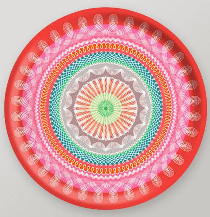 eclectic serveware by Gretel