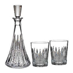 Waterford Crystal - Waterford Crystal Lismore Diamond Decanter And Dof Pair Gift Set 160707 - Waterford Lismore Diamond Decanter And Dof Pair Gift Set  -  Don't Buy From An Unauthorized Dealer  -  Genuine Waterford Crystal  -  Fully Authorized U.S. Waterford Crystal Dealer  -  Stamped With The Waterford Seahorse Symbol Of Excellence  -  Waterford Crystal UPC Number: 024258518803