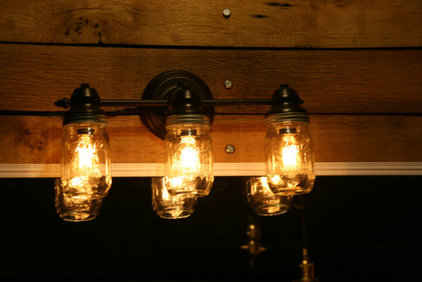 Rustic Wall Lighting by AES Mobile Studios