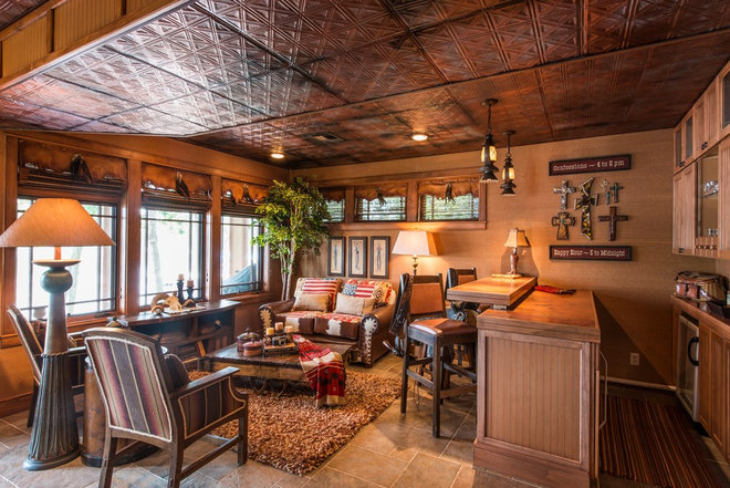 Traditional Living Room by Scott's Creative Home