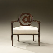 Contemporary Armchairs by Thayer Coggin
