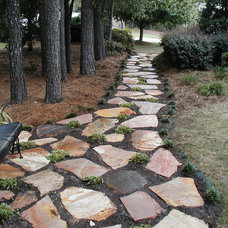 Contemporary Landscape by Vision Hardscapes of Atlanta