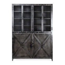 Birmingham Industrial Display Cabinet