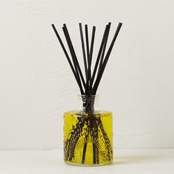 Voluspa Japonica Reed Diffuser - I love walking in the front door to a house that smells fresh and clean. And this bottle is so pretty!