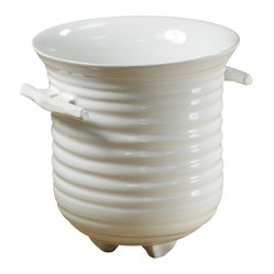 Montes Doggett - Hand-thrown Ice Bucket - A special occasion deserves a special drink — and a special drink holder, too. This would make a fabulous champagne or wine bucket, but it would also work for just ice if you'd prefer cocktails instead.