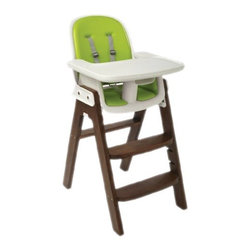 Sprout High Chair - I like that this is a wooden chair but with padding so it's more comfortable.