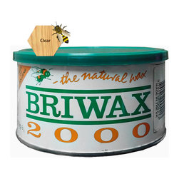 "Briwax international - Briwax Toulene Free 16oz (available in 7 colors), Clear, 16 Oz - Briwax is a solvent based blend of beeswax and carnauba wax for use on bare wood or previously sealed surface. Can also be used as a maintenance wax. Briwax has long been recognized by furniture restoration professionals as a premiere, multi-purpose furniture wax. It produces a lustrous patina, not a glossy surface shine. It is suitable for use as a finish on new wood or stripped furniture, a reconditioner for old or damaged finishes, a furniture wax for fine furniture and antiques or an antiquing agent where the desire is to ""age"" a newly painted carving or project."