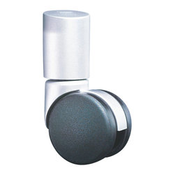 Empire Office Solutions - Moll Spin and File Binder Caster Base for Storage Carousel in Graphite Plastic - Add mobility to a carousel with these sturdy rolling casters. Easy to install, the casters fit onto the bottom of the carousel.