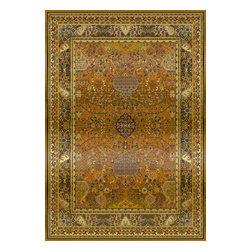 """United Weavers of America - United Weavers of America Tapestries Taj Mahal TW Bronze 3'11"""" x 5'3"""" Area Rugs - United Weavers of America Tapestries Taj Mahal TW Bronze 3'11"""" x 5'3"""" Area Rugs"""
