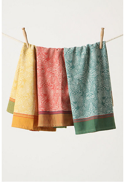 Traditional Dish Towels by Anthropologie