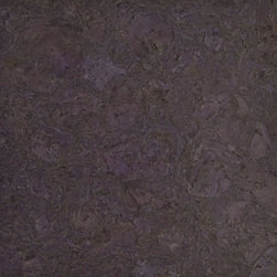 Colored Cork Tiles in Nugget Texture - Dusty Lilac colored Nugget textured cork tiles for flooring from Globus Cork. 25 shapes. Made in the USA