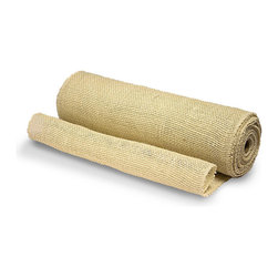 Jute Burlap Table Runner - Add a burlap runner to your holiday table for a slight twist of the unexpected.