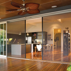 Centor S1E Eco Screen - The S1E Eco-Screen™ promotes an eco-friendly lifestyle by offering chemical-free insect protection, solar control and thermal insulation; converting a single-glaze opening to double-glaze performance.