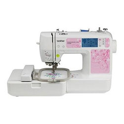 Brother Sewing - Embroidery Machine 70 Designs - Brother PE500 Embroidery Machine - Embellish your creations with embroidery! Easy to learn and use embroidery-only model from Brother with 4x4 embroidery area. Easy-to-view back-lit touch screen LCD display accesses 70 built-in embroidery designs with 5 lettering fonts. Computer connectivity for importing thousands of embroidery designs purchased from iBroidery.com and other sites and for updating your machine in the future. Comes with a full line of accessories including a starter set of stabilizer and thread hoop needle set and more so you are practically ready to embroider right out of the box. Bilingual user manual 25-year limited warranty and free phone support for the life of the product.