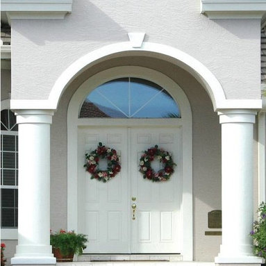 Smooth Skin Fiberglass Door Series - 3/0 x 6/8 Trimmable Series: Smooth Skin Six Panel Utility ---