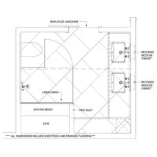 Floor Plan See the TK Tricks that Opened Up This Cramped Master Bathroom