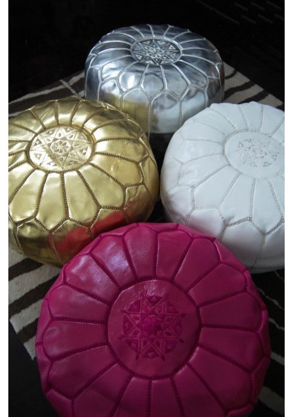 Mediterranean Ottomans And Cubes by Table Tonic
