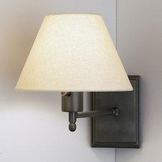 Modern Swing Arm Wall Lamps by AllModern
