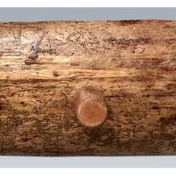 Montana Woodworks - Log Coat Rack (36 in. W x 8 in. D x 6 in. H) - Choose Size: 36 in. W x 8 in. D x 6 in. HIncludes hardware. Hand crafted. Heirloom quality. Solid lodge pole pine legs. Mounts easily to most walls. Made from American grown wood. Stained and lacquered finish. Made in USA. No assembly required. Warranty. Use and Care InstructionsThe log coat rack from Montana woodworks mounts easily to most any wall. Provides a sturdy and attractive solution to the everyday problem of coats lying around the house. Finished in the glacier country collection style for a truly unique, one-of-a-kind look reminiscent of the grand lodges of the Rockies, circa 1900. First we remove the outer bark while leaving the inner, cambium layer intact for texture and contrast. Then the finish is completed in an eight step, professional spraying process that applies stain and lacquer for a beautiful, long lasting finish.