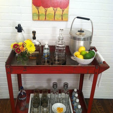 Industrial Bar Carts by Krrb