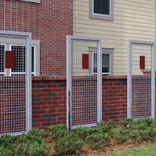Contemporary Home Fencing And Gates by Barfield Fence and Fabrication