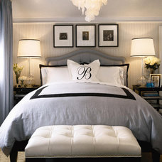 Hollywood Regency Bedroom Design