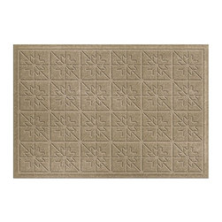 Bungalow Flooring - Bungalow Flooring Water Guard Star Quilt Indoor / Outdoor Mat - 843500023 - Shop for Door Mats from Hayneedle.com! For a tough mat that can take a beating look no further than the Bungalow Flooring Water Guard Star Quilt Indoor / Outdoor Mat. Its polypropylene construction ensures this mat can handle it all and look good doing it. A simple star pattern adds a fun touch but even that is functional. The raised ridges throughout the design help trap dirt and keep it from making a mess of your home.About Bungalow FlooringAs a servicer of the gift and wholesale industry Bungalow Flooring made their mark selling to more than 50 mail order regional and internet retailers. Serving as the retail consumer arm of The Andersen Company a division of Georgia-based Mountville Mills Inc. Bungalow Flooring is proud to be a domestic manufacturer of a broad range of floor covering products. Unparalleled in creative design innovative products service and fulfillment only Bungalow Flooring offers such a wide array of floor coverings including personalized doormats machine washable MicroFibres for the bath and kitchen as well as molded polypropylene rugs.