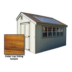 Fifthroom - Potting Shed with Cedar Lap Siding -