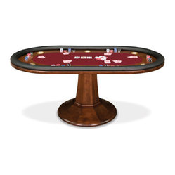 taliesin 96-in texas holdem table