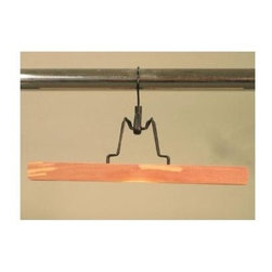Proman Products - Cedar Skirt Hanger in Natural Finish - Set of - Set of 12