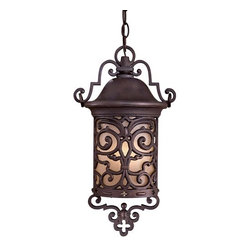 The Great Outdoors - The Great Outdoors GO 9194-PL 1 Light Lantern Pendant Chelesa Road Coll - Single Light Lantern Pendant from the Chelesa Road CollectionFeatures: